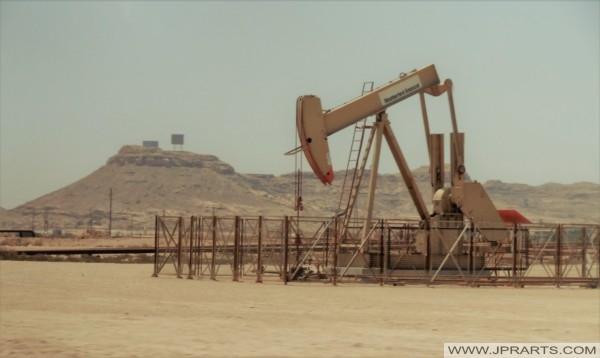 مضخة نفط في البحرين