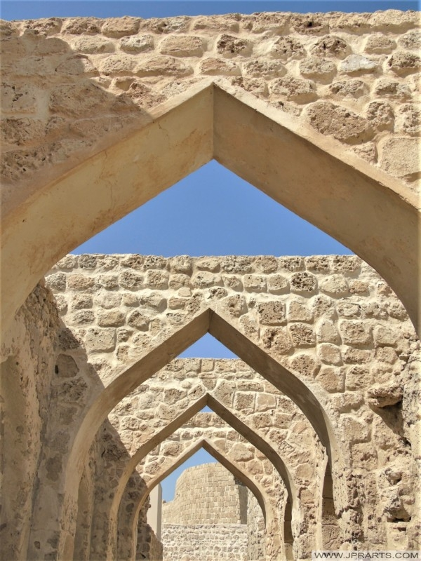 Archways in the Bahrain Fort