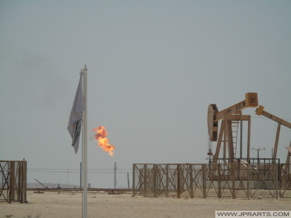 Bahraini Oil Field