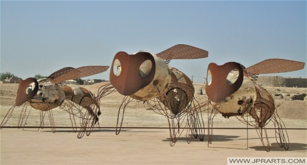 Insect Sculptures in Bahrain