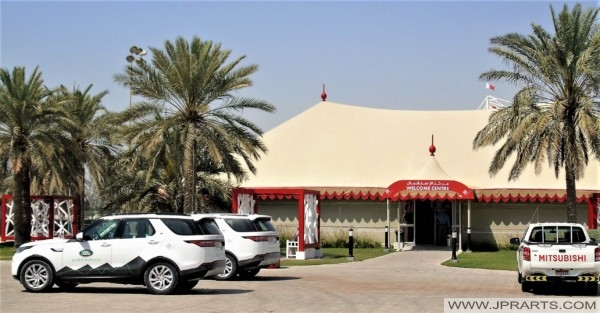 Welcome Centre at the Bahrain International Circuit