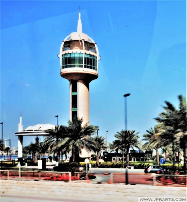 Coffee Tower in the Prince Khalifa Bin Salman Park (Manama, Bahrain)