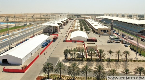 First Formula 1 Circuit in the Middle East - Bahrain International Circuit