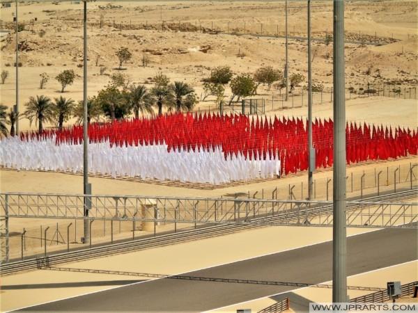 Flag of Bahrain on the International Circuit