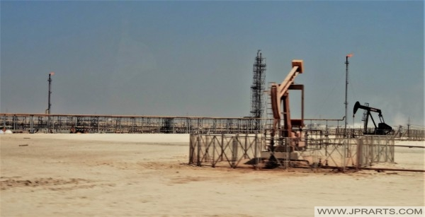 Oil Fields in Bahrain
