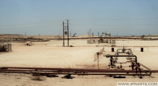 Oilfield on the Arabian Peninsula (Bahrain)