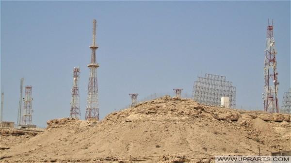 Radio Masts (Jabal Ad-Dukhan, Bahrain)