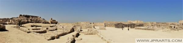Fort in the Middle East (Qal'at al-Bahrain)