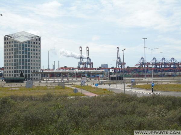 Euromax Terminal on the Maasvlakte (Rotterdam, the Netherlands)