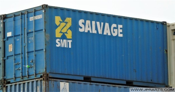 Container from SMIT Salvage