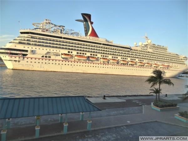 Carnival Sunshine in Nassau, Bahamas