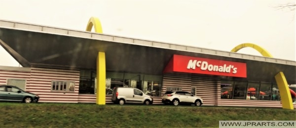 Golden Arches from McDonald's (Best, The Netherlands)