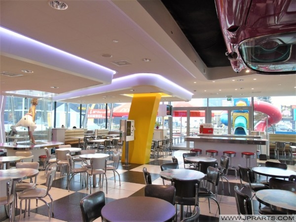 Retro Style McDonald's in Best, The Netherlands