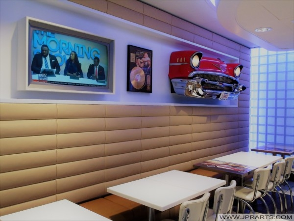 Rock 'n Roll Styled McDonald's in Best, The Netherlands