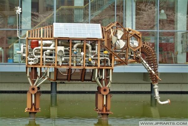 Metal Elephant (Delft University of Technology, Netherlands)